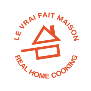 Le logo fait maison orange