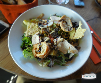 Grande salade à la carte