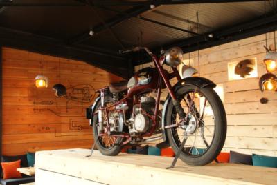 Moto du restaurant du village moto orvault nantes